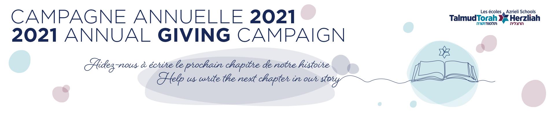 2021 Annual Campaign / Campagne annuelle